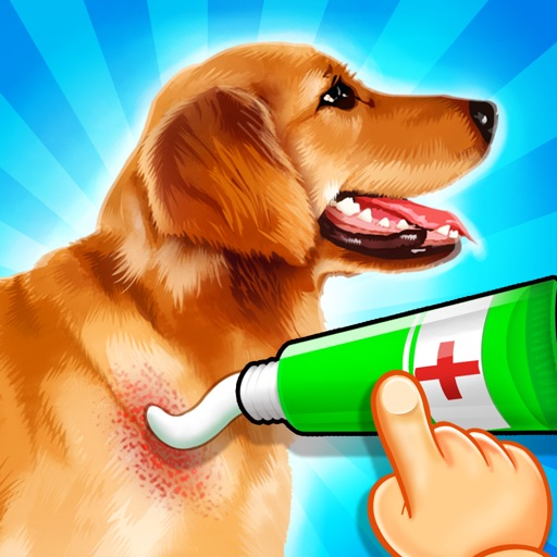 Pet Vet Doctor: Cats & Dogs Rescue - Free Kids Game iOS App