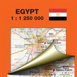Egypt. Road and tourist map