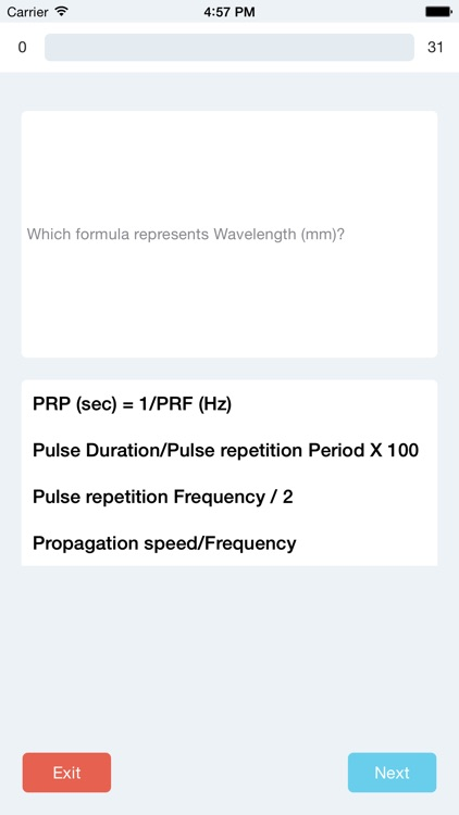 Ultrasound Physics SPI Practice Questions
