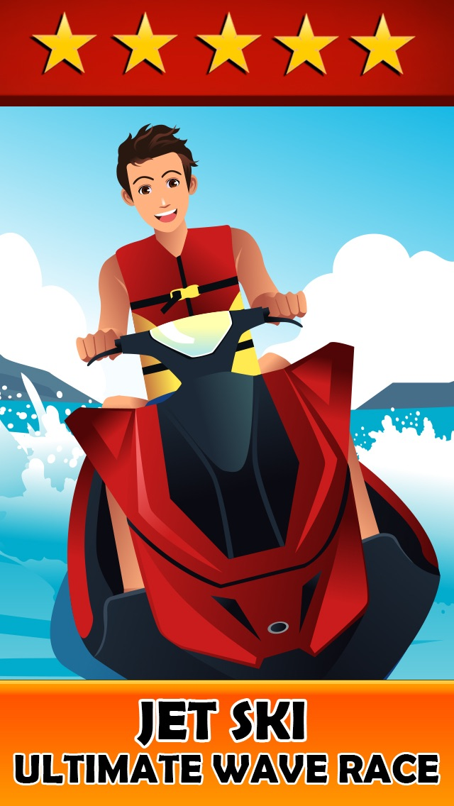 Jet Ski Crazy Racer - An Addictive  Boat Racing Game for Kids,