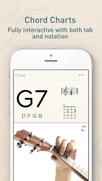 UkeChords - Real Fingering Positions For Ukulele Chords screenshot-3