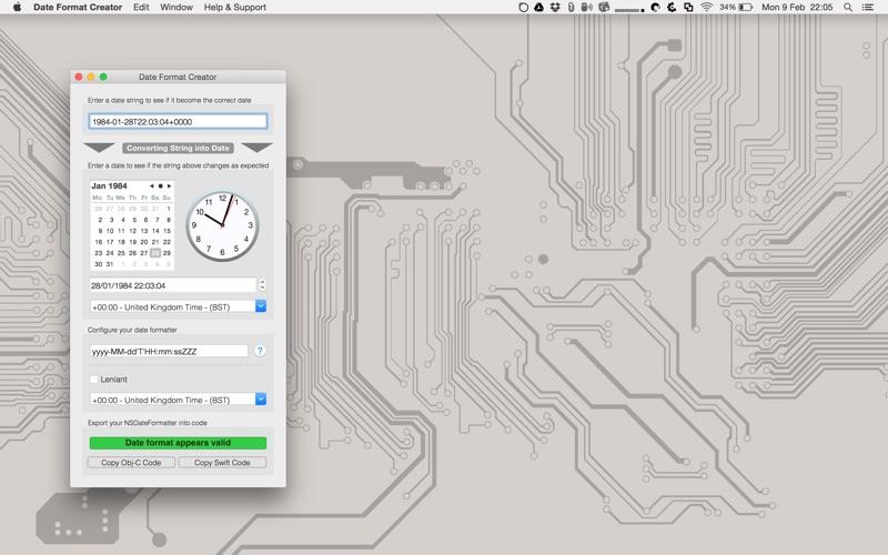 Date Format Creator Screenshots