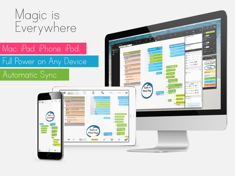 MagicalPad: Notes, Mind Maps, Outlines and Tasks - All in one screenshot-4