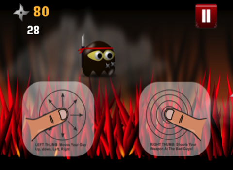 Ninja Chops It Up Game: Chopping Around The World with a Broken Sword for Eternity - Infinity Swift Mania & No Blood-ipad-1