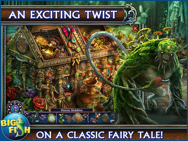 Dark Parables: Ballad of Rapunzel HD - A Hidden Object Fairy Tale Adventure screenshot-1