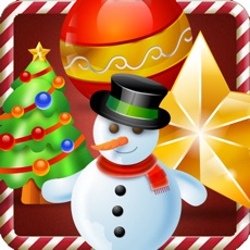 Activities of Christmas eve slider. A free match 3 puzzle game with snow fall for whole family