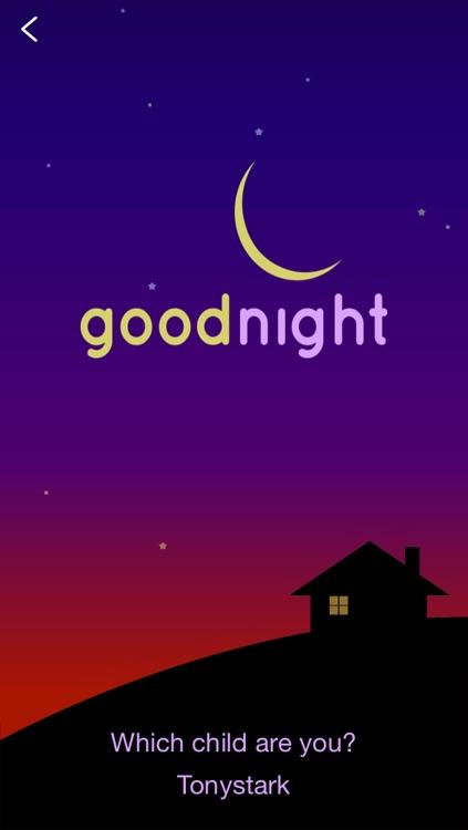 Goodnight - Parent monitor screenshot-4
