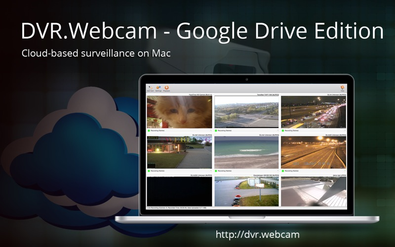 DVR.Webcam - Google Drive Edition Screenshot
