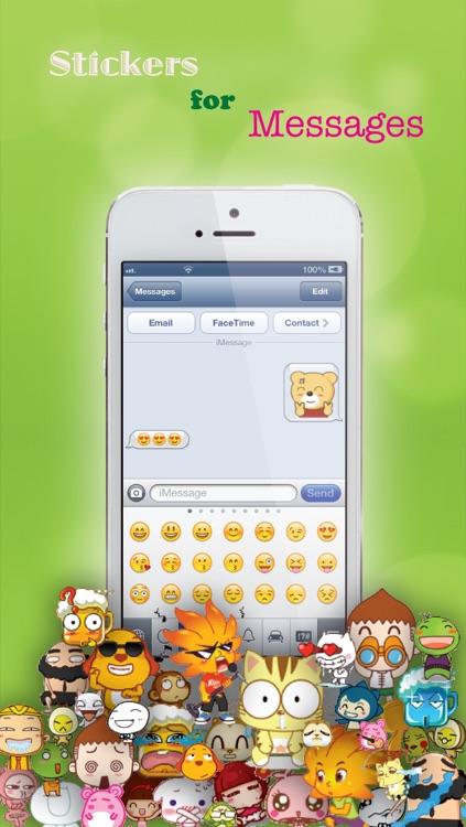 Stickers for Facebook Messenger, WeChat, Viber & WhatsApp...etc screenshot-4