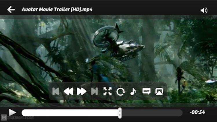 Quick Player - full featured media center screenshot-4