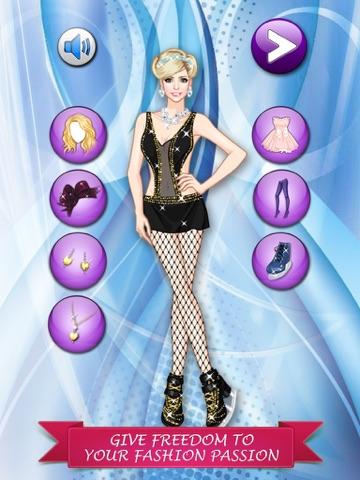 フィギュア スケート ガール変身 - かわいいファッションの女の子、メイクアップとプリンセスのゲームを愛する子供たちのゲームをドレスアップします。のおすすめ画像3