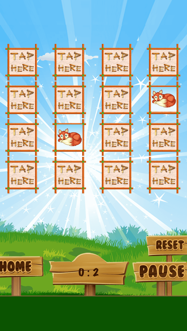 A Matching Game for Children: Learning with animals of the forest screenshot three