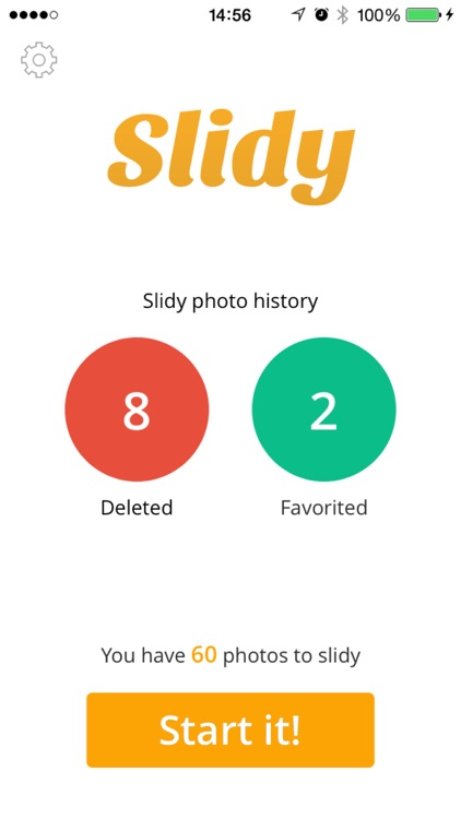 Slidy - The most effective way to delete and manage your photos, free storage space