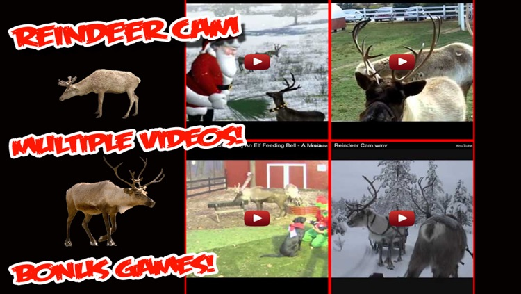 ReindeerCam - Watch Santa's Reindeer & More!