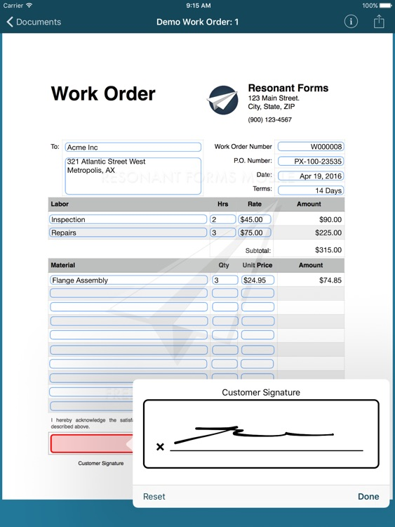 Resonant Forms Mobile screenshot-3