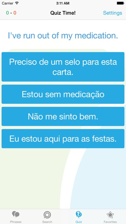 Portuguese Phrasebook - Travel in Portugal with ease screenshot-3