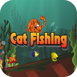 Cat Fishing - Cute Cat Free Game for Kids