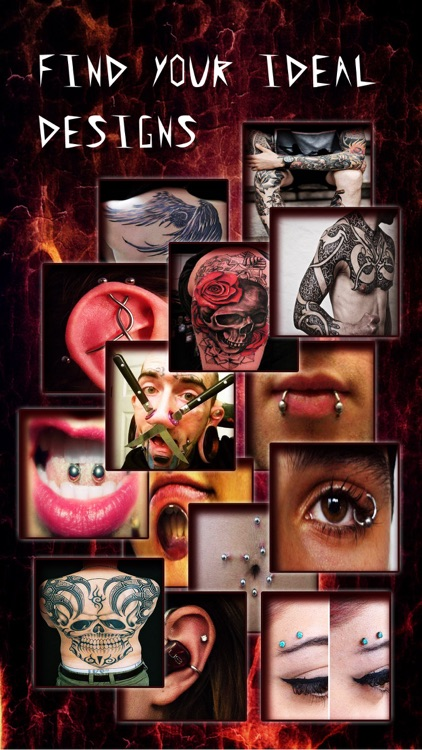 Piercing & Tattoo Catalog Pro - Yr Design Ideas of Body Art Inked or Pierced