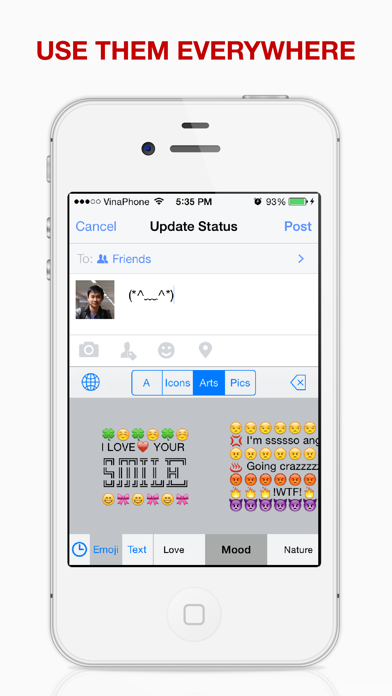 点击获取Emoji Keyboard Plus - The Most Advanced Emoji & Emoticon Keyboard Ever