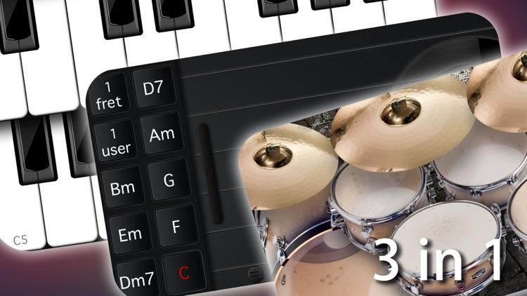 Band4U - Free - Piano Drums Guitar - All in one screenshot-0