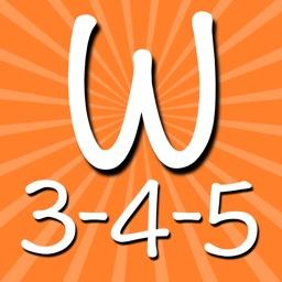 Words 3-4-5