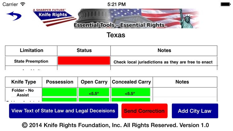 Knife Rights LegalBlade™ screenshot-2