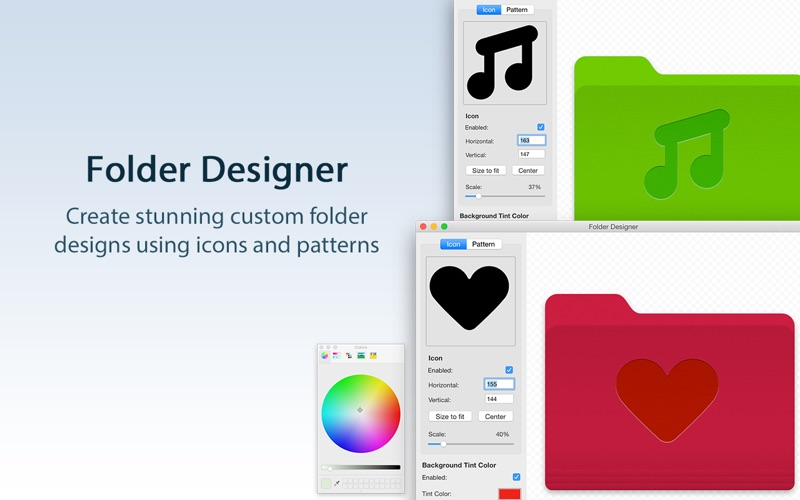 Folder Designer: Custom Icons Screenshots