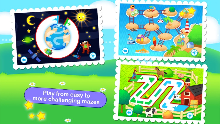 Toddler Maze 123 Pocket - Children Animated Puzzle