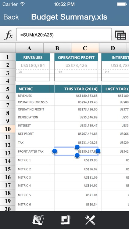 SpreadsheetX FREE-MS Office Excel Edition screenshot-3