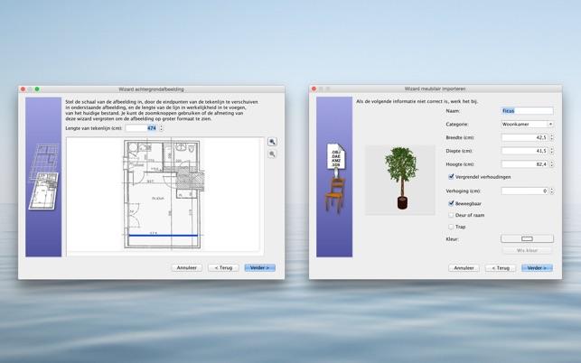 Sweet home 3d in de mac app store for Badkamer ontwerpen 3d mac