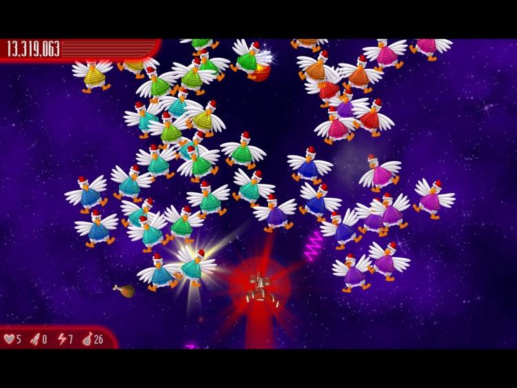Chicken Invaders 4 Xmas HD screenshot-3