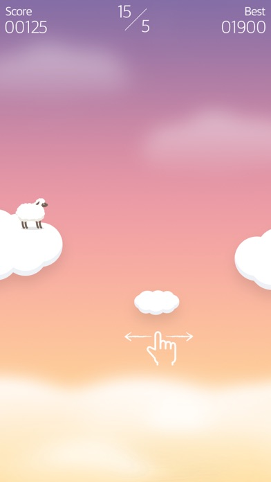 Over the Clouds : Sheep Free ( Sleepy & Healing game ) screenshot one
