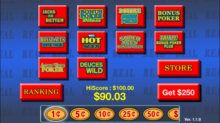 Video Poker plus HD screenshot-3
