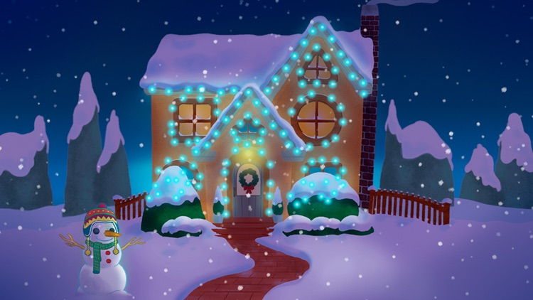 Tiggly Christmas: Fun Creative Holiday Game for Preschool Kids screenshot-0
