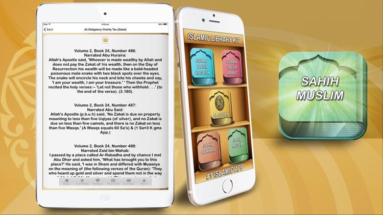 AL QURAN - Tafsir Best translations in english & arabic قرآن تفسیر  & Sahih Bukhari Muslim for Ramadan 2016 screenshot-4
