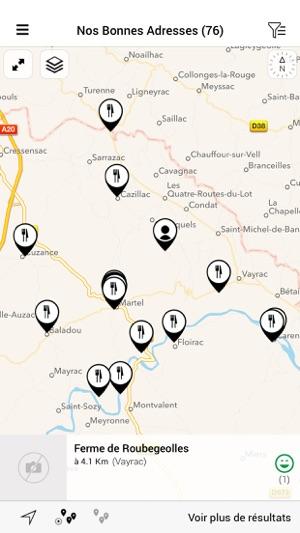Vallée de la Dordogne - Rocamadour - Padirac Tour on the App