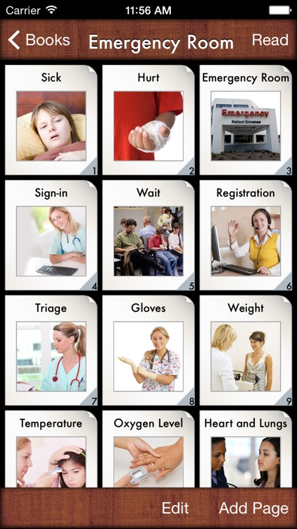 i Get... Going to the Hospital and Accessing Child Life Services with Medical Photo Vocabulary and Preparation Books screenshot-4