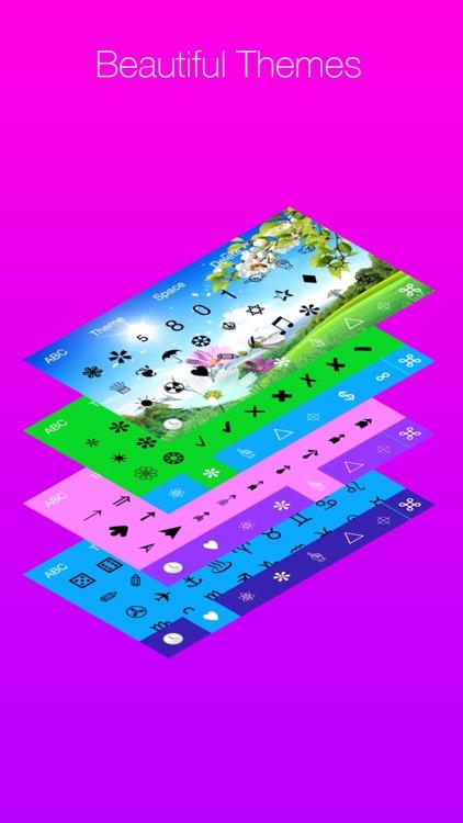 Cool Symbols Keyboard screenshot-4