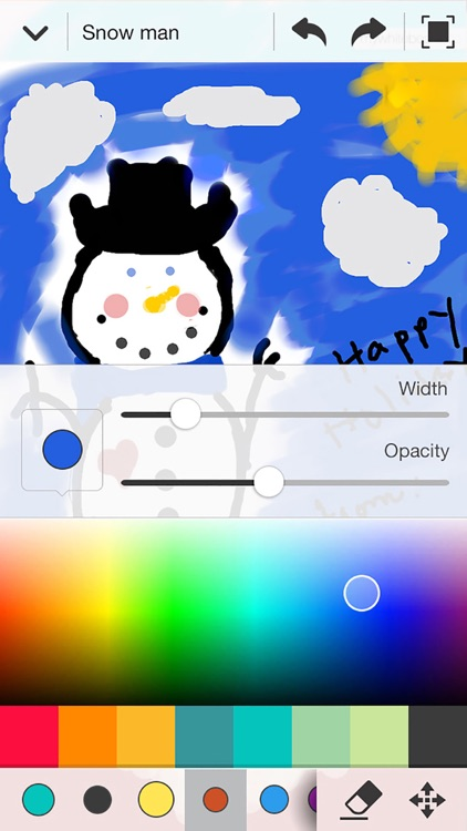 Whiteboard Lite: Collaborative Drawing screenshot-1