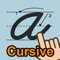 Your child can practice the lost art of cursive writing with this educational app