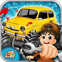 Monster Truck Maker – Build the vehicle in this mechanic game