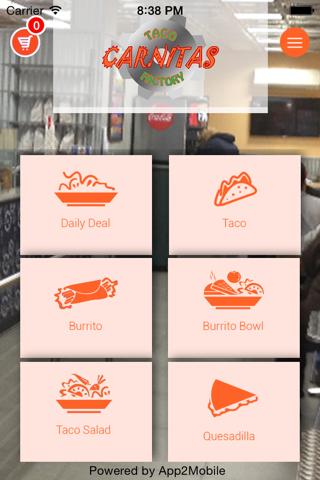 Carnitas Taco Factory screenshot 1