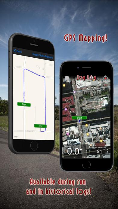 Jog Log - GPS Running, Walking, Cycling, and Workout Trackerのおすすめ画像2