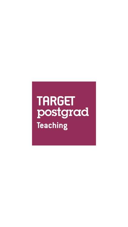 TARGETpostgrad Teaching screenshot-4