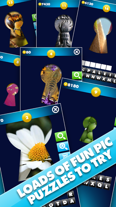Through The Keyhole - Take a peek at the pic and guess the word screenshot four
