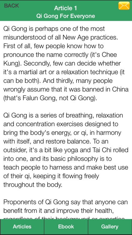 Qigong Guide - Everything You Need To Know About Qi Gong ! screenshot-4
