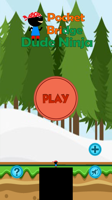 download Pocket Bridge Dude Ninja - Hold Stick to Reach Tower apps 0