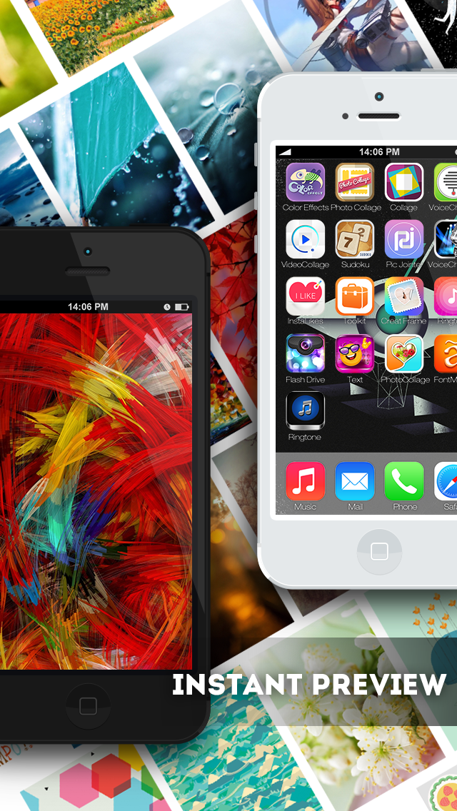 Wallpapers & Backgrounds Live Maker for Your Home Screen ScreenShot3