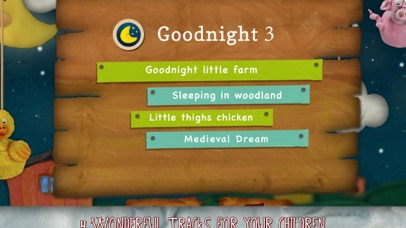 download Goodnight 3 - Lullabies & Free Music for Children (Clay Farm edition) apps 1