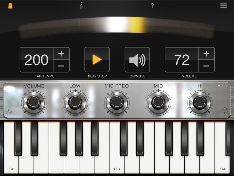 iLectric Piano for iPad screenshot-4